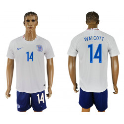 2018 Fifa World Cup England Home #14 Jersey