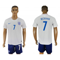 2018 Fifa World Cup England Home #7 Jersey