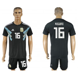 2018 Fifa World Cup Argentina Away #16 Jersey