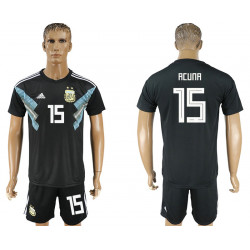 2018 Fifa World Cup Argentina Away #15 Jersey