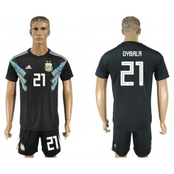 2018 Fifa World Cup Argentina Away #21 Jersey