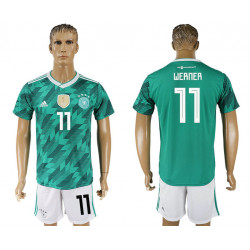 2018 Fifa World Cup Germany Away #11 Jersey
