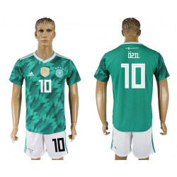 2018 Fifa World Cup Germany Away #10 Jersey