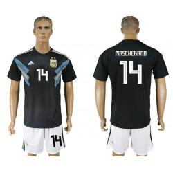 2018 Fifa World Cup Argentina Away #14 Jersey
