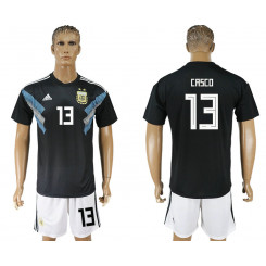 2018 Fifa World Cup Argentina Away #13 Jersey