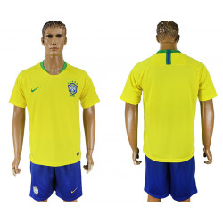 2018 Fifa World Cup Brazil Home Jersey