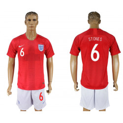 2018 Fifa World Cup England Away #6 Jersey