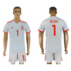 2018 Fifa World Cup Spain Away #1 Jersey