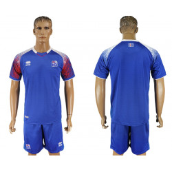2018 Fifa World Cup Iceland Home Jersey