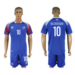 2018 Fifa World Cup Iceland Home #10 Jersey