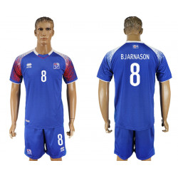 2018 Fifa World Cup Iceland Home #8 Jersey