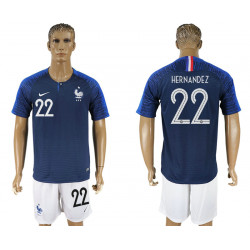 2018 Fifa World Cup France Home #22 Jersey