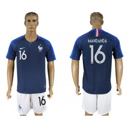 2018 Fifa World Cup France Home #16 Jersey