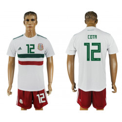 2018 Fifa World Cup Mexico Away #12 Jersey