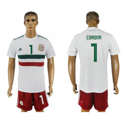 2018 Fifa World Cup Mexico Away #1 Jersey