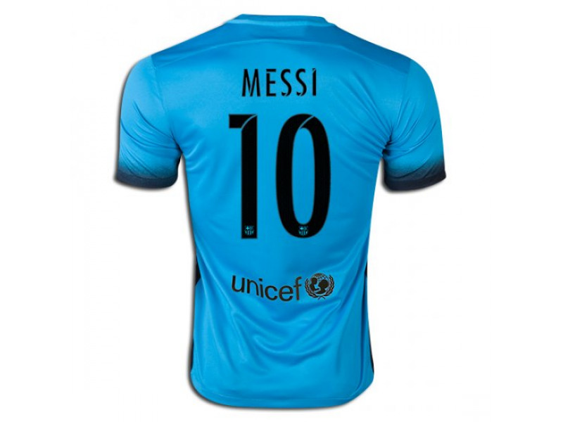 new style 3a4dc e1544 2015/16 Barcelona #10 Lionel Messi Third Jersey