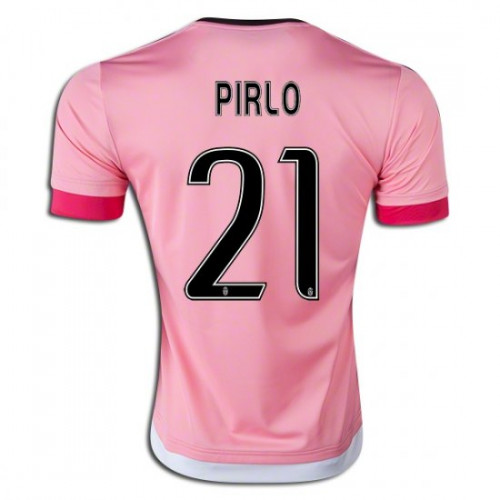 7a53926ac 2015 16 Juventus  21 Andrea Pirlo Away Jersey